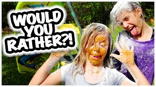 😝WOULD YOU RATHER CHALLENGE😝 GIRLS EDITION | SMELLY BELLY TV