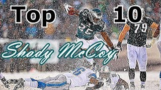 LeSean McCoy Top 10 Plays of Career