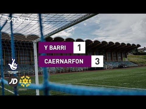 Barry Caernarfon Goals And Highlights