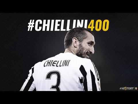 Chiellini, 400 volte Juventus - Chiellini joins 400 club