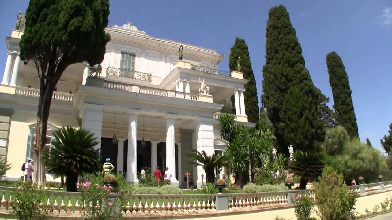 Achilleion Palast Korfu - YouTube