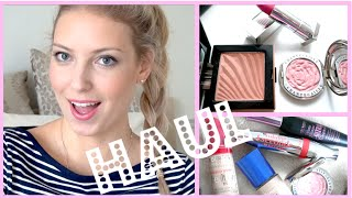 Makeup HAUL + 1st Impressions!! ♡ NARS, Rimmel, Bourjois & More!!