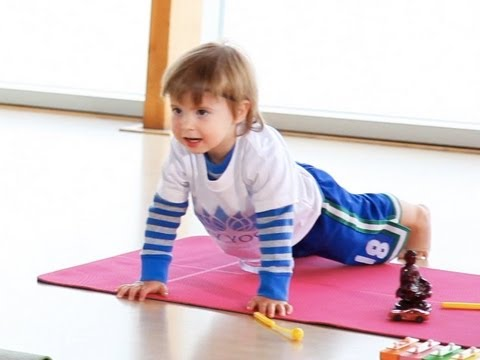 2 Year Old Yoga Teacher