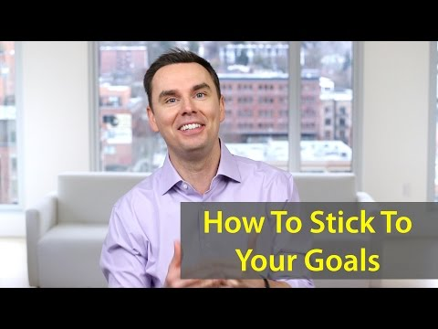 Stop Quitting on Your Goals. Here's How. Stick to Your Goals!