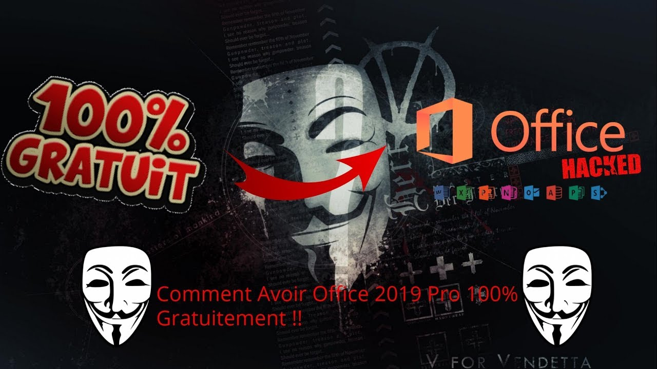 (Crack) Comment Avoir Microsoft Office Pro 2019 100% Gratuitement !!!!!