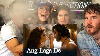 Ang Laga De   Video Song   Goliyon Ki Rasleela Ram-leela Reaction!!! Thumb