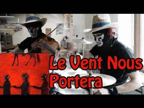 Noir d sir le vent nous portera drum cover improvised - Partition guitare le vent nous portera ...