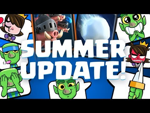 CLASH ROYALE SUMMER UPDATE! 12-0 Giant Snowball & Royal Hogs Challenge | Clash Royale 🍞