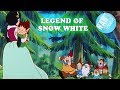 SNOW WHITE cartoon story for kids | movie for children | animated movie in English | TOONS FOR KIDS