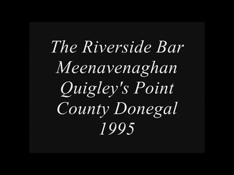 THE RIVERSIDE BAR QUIGLEYS POINT COUNTY DONEGAL 1995