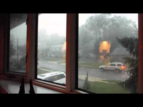 CRAZY Tornadic Storm Strikes! | 2015 Storms (6/23/15)