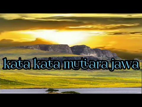 Kata Kata Mutiara Bahasa Jawa Story Wa Youtube