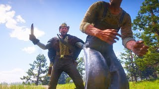 Red Dead Redemption 2 - Epic Brutal & Funny Moments Compilation #12