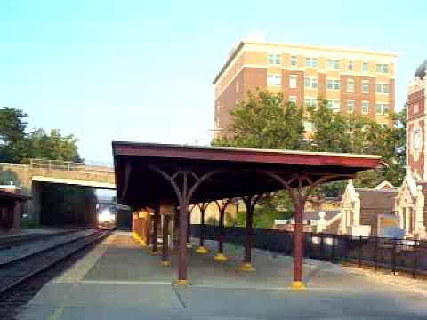"Amtrak ""Pennsylvanian"" Train Arriving Greensburg PA  From Penn Station"