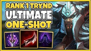 #1 TRYNDAMERE WORLD ULTIMATE ONE-SHOT BUILD (100% LETHALITY) - League of Legends