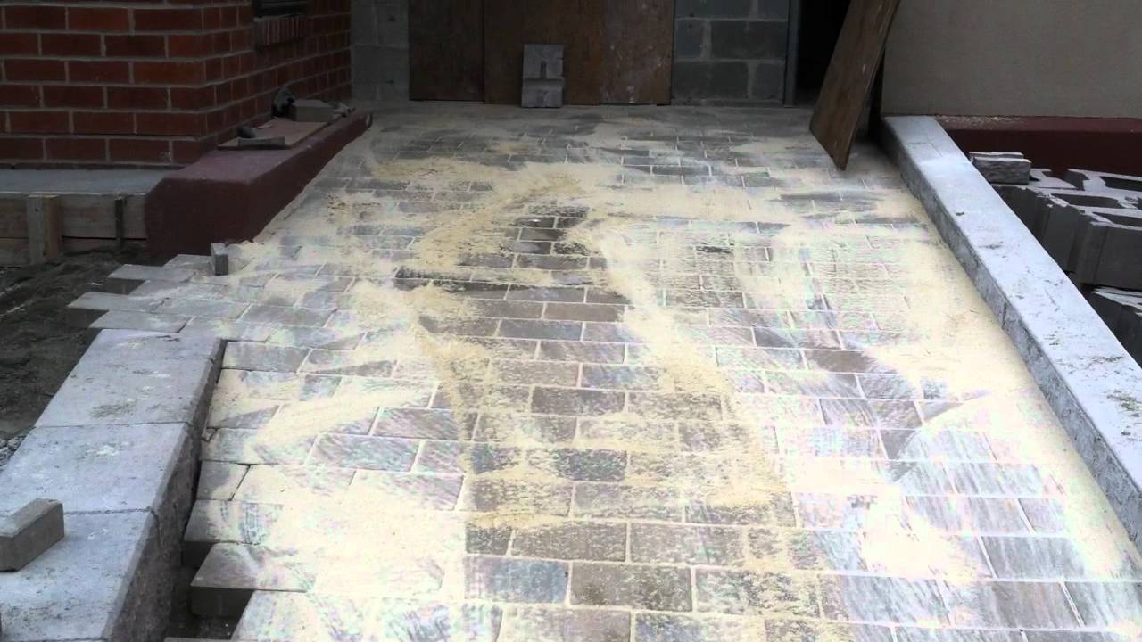 Greenfield Construction Paver Ramp Youtube