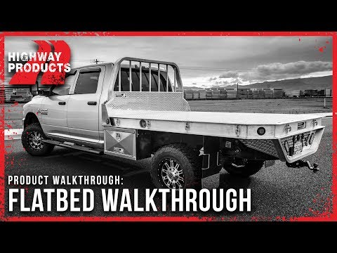 Highway Products | Flatbed Walkthrough