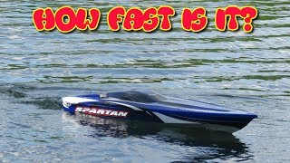 DRIFTOMANIACS - How Fast Is The Traxxas Spartan?