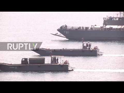 Thailand: US holds amphibious assault drills with Asian allies in Thailand