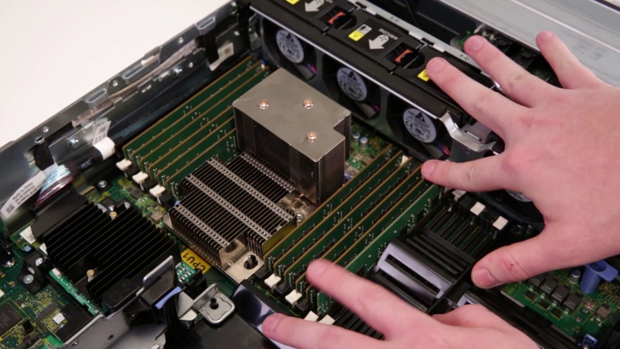 Dell EMC PowerEdge 14th Generation Racks: Remove/Install System Memory