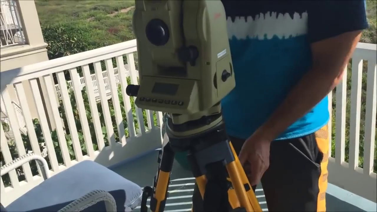 Theodolite Test 10/15/2015 - South Padre Island, TX - Lord Steven Christ