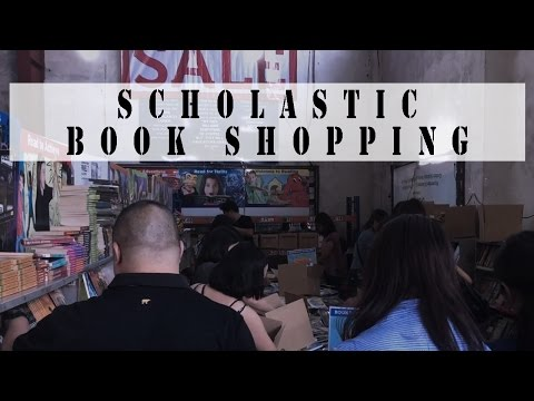 SCHOLASTIC WAREHOUSE SALE 2017 | BOOK SHOPPING