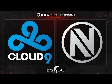 CS:GO - Cloud9 vs. EnVyUS [Cbble] - ESL ESEA Pro League Dubai Invitational - Group A