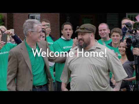 Hero Homecoming: Welcome Home, Shawn!