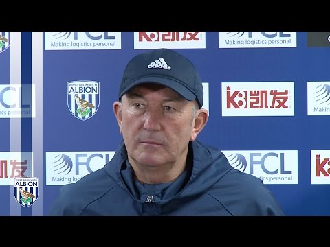 Tony Pulis addresses the media ahead of Manchester United visit