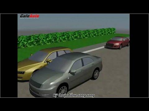 Vietsub: Kỹ thuật đỗ xe song song - Parallel parking