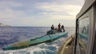 Cocaine submarines used in multi-billion dollar trafficking trade