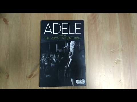 Adele - Live At The Royal Albert Hall (CD + DVD) | Unboxing