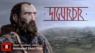 "CGI 3D Animated Short Film ""SIGURDR"" Animation & Stop Motion Film by ESMA"