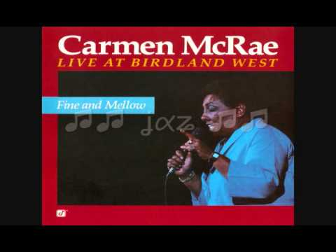 Carmen McRae / Black and Blue