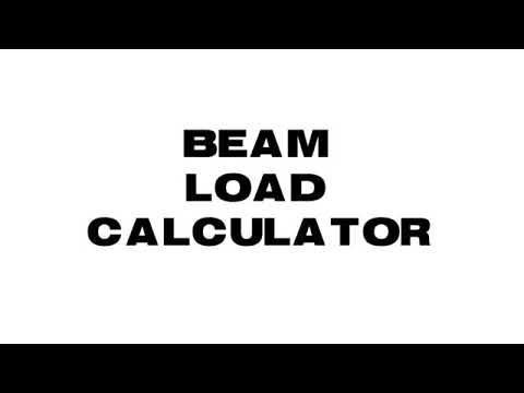Beam Load Calculator App