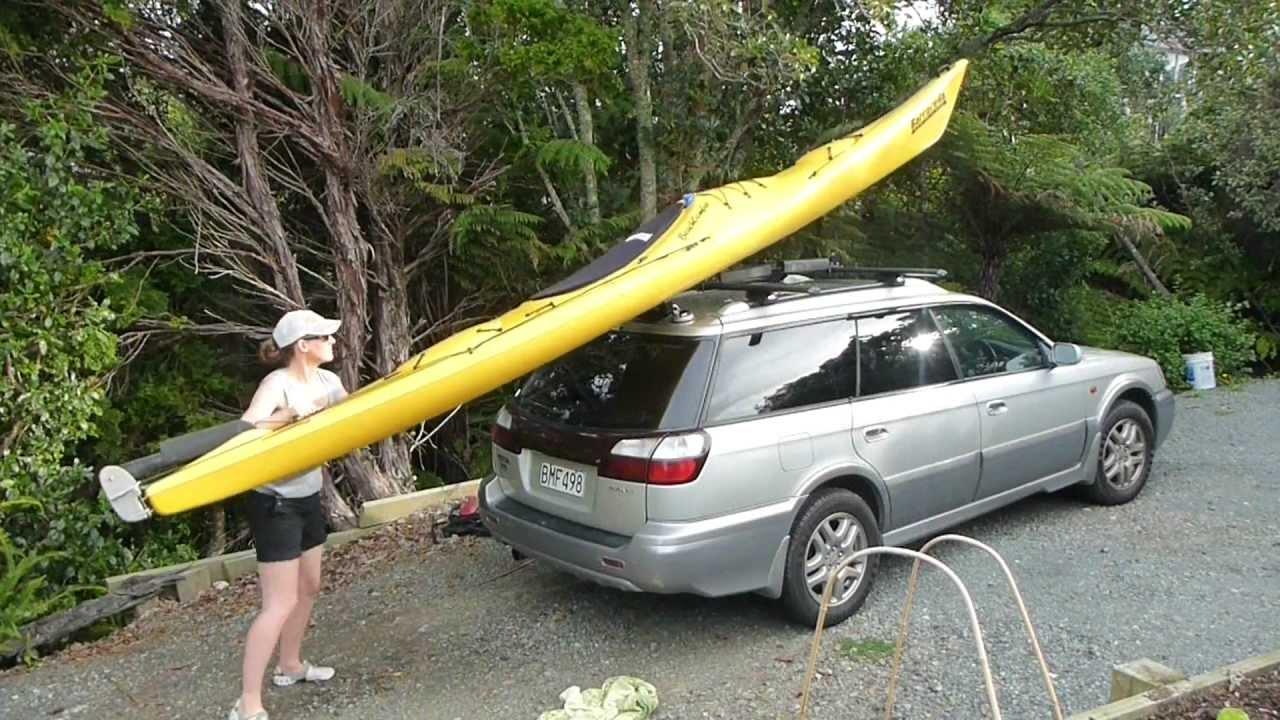 K-Rack, Easy loader for Kayaks and Canoes - YouTube