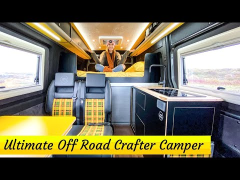 FULL TOUR £95,000 Adventure VW Crafter Camper - Vanworx MaxTraxx