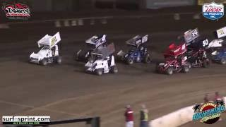 Perris Auto Speedway California Lightning Sprint Highlights