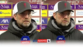 Jurgen Klopp reacts to Liverpool's FIFTH successive home defeat! | Liverpool 0-1 Chelsea
