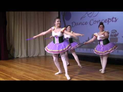 Dance Concepts Performs at the Southern New Hampshire Festival of Trees