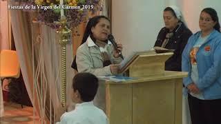 Eucaristía solemne en honor a la Virgen del Carmen - Julio 13 de 2019