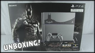 BATMAN Arkham Knight Limited Edition PS4 Unboxing
