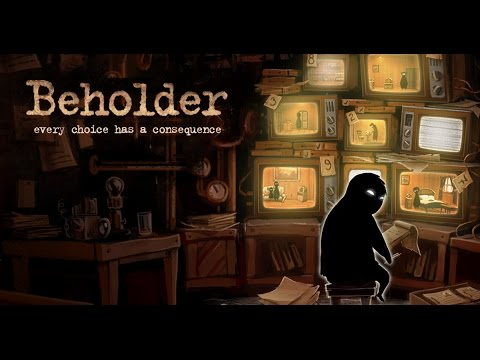 Spying On YOU! | Beholder PC First Impression / Review