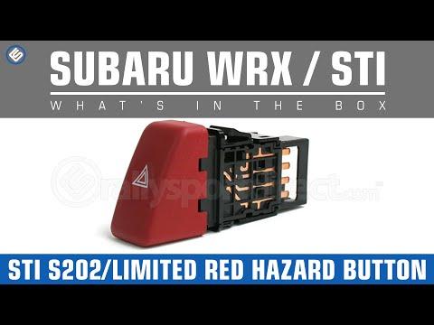 Subaru 02-07 WRX/STI S202/Limited Red Hazard Button - What's in the Box?