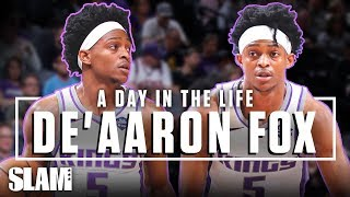 De'Aaron Fox is LEVELING UP, On and Off the Court | SLAM Day in the Life