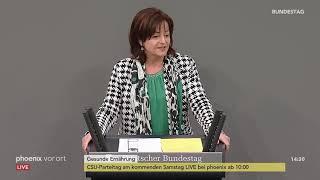 """Bundestagsdebatte zum Thema """"Gesunde Ernährung"""" am 17.01.19"""
