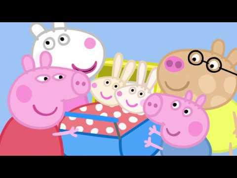 Peppa Pig 粉紅豬小妹 第五季10【肚子隆起的兔媽媽】中文版