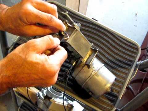 1970 chevelle wiper motor - YouTube