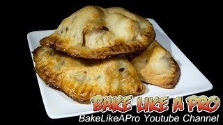 Mini Apple Hand Pies Recipe & No Fail All Shortening Pie Dough Recipe !