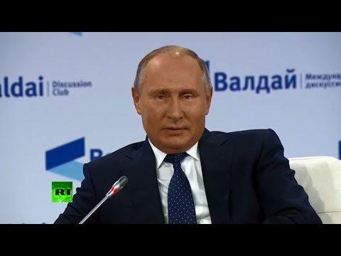 Putin Attends Valdai Club Plenary Session In Sochi